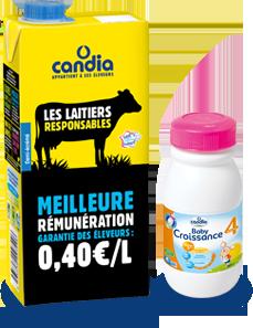 Bouteille de lait 2018-2019